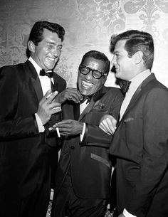 Dean Martin, Sammy Davis Jr. and Tony Curtis by David Sutton
