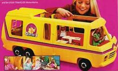 Barbie's Camper Van, early 1980's