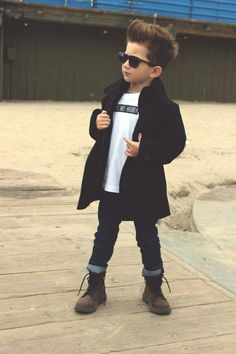 Swag-out little boy