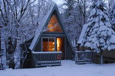 Riverwood: 700 Sq. Ft. A frame Inspired Cabin Photo