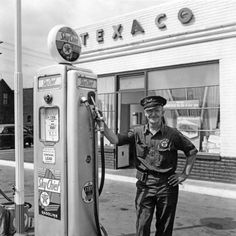 Bud Taylor's Garage and Gas Station, 1942 Terre Haute, Indiana