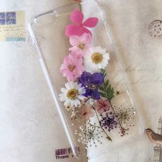 This lovely pressed flower phone case. | 17 Really Cute And Affordable Just Because Gifts