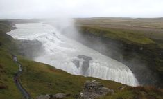 Part of the Golden Circle, this is one of the biggest waterfalls in Iceland Iceland Photos, Iceland Waterfalls, Golden Circle, Niagara Falls, Natural Beauty, To Go, Awesome, Places, Travel