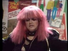 Brainspace pays homage to Toyah Wilcox - Australia You're Standing In It - abt. 1983?