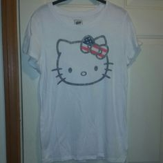 Hello kitty fourth of July t Hello kitty fourth of July t Worn once Hello Kitty Tops
