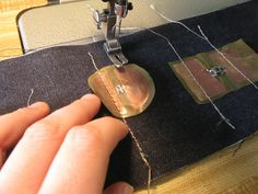 Make your own sew-through Soft Circuits | The Steampunk Workshop