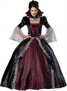 Vampiress of Versailles Gothic Costume