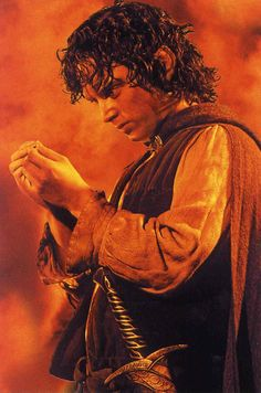 Day 23 Least Favorite Character: Frodo, not that I hate him but he was a dick to Sam for a bit there I know it was the rings influence but still.