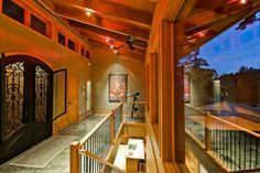 Contemporary passive designed home with reclaimed wood.  rdbarchitect.ca