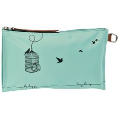 Cosmetic case, Small leather goods, Lagoon (Ref.:2541569)