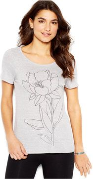 so cute -- Lucky Brand Short-Sleeve Scoop-Neck Printed Tee  -- http://www.hagglekat.com/lucky-brand-short-sleeve-scoop-neck-printed-tee/