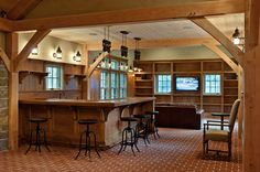Bon Carriage House/Barn Traditional Garage And Shed Man Cave Shed, Garage Man  Caves,
