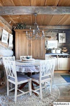 keittiö,mökki,sinivalkoinen,integroitu