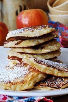 Apple cinnamon pancakes   Flickr - Photo Sharing!