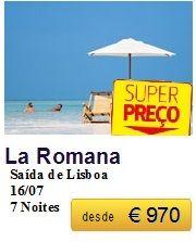 La Romana - Ultimos Lugares €970
