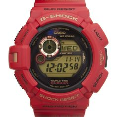 Hirshleifers - G-Shock - Limited Edition 30th Annniversary Red (Red), $240.00  WANT FOR BIRTHDAY EVERY 45! YR OLD SHOULD HAVE ONE
