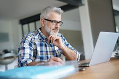 Man working from home on laptop computer - Buy this stock photo and explore similar images at Adobe Stock Jack Black, Button Down Shirt, Men Casual, Blog, Sports, Mens Tops, Corona, Play Market, Video Editing