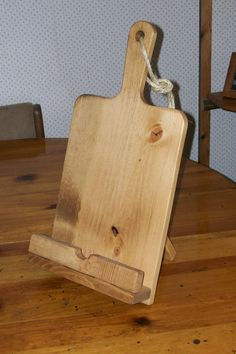 Hey, I found this really awesome Etsy listing at http://www.etsy.com/listing/167113266/rustic-ipad-stand-cookbook-holder