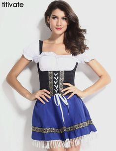 Now available in our store Oktoberfest Costu... Check it out http://whurk.net/products/oktoberfest-costume-bavarian-german-festival-beer-cosplay-halloween-costume-for-women?utm_campaign=social_autopilot&utm_source=pin&utm_medium=pin #fashionable