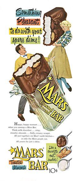 mars ad - My mom's favorite!!
