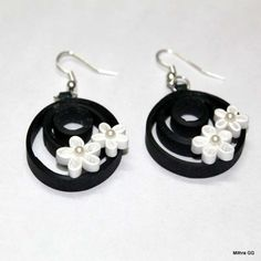 earrings collection in Black