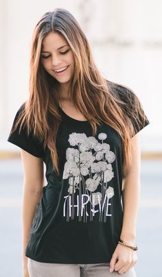 THRIVE and help others thrive too! This shirt donates $7 to improve the lives of children and adults battling muscle diseases.