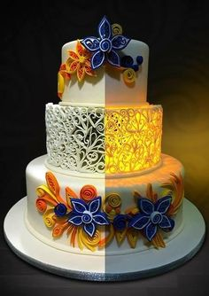 Illuminated Cake by Pia Angela Dalisay Tecson
