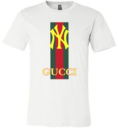 nice Gucci Edition New York Yankees Unisex T-Shirt Gucci Shirts Men, Gucci Men, Gucci Outfits, Boy Outfits, Gucci Brand, Gucci Fashion, Crew Neck Sweatshirt, T Shirt, Style