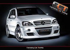 Mercedes ML W163 Spoiler Set Body Kit Tuning neu TOP!!