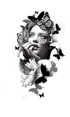 Bild Tattoos, Leg Tattoos, Arm Band Tattoo, Body Art Tattoos, Sleeve Tattoos, Tattoo Design Drawings, Tattoo Sleeve Designs, Tattoo Sketches, Tattoo Studio