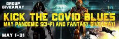 Kick the Covid blues with the May Pandemic sci-fi and fantasy Giveaway! Joey Rodriguez, Michael Thomas, Fantasy Authors, A Writer's Life, Reading Stories, Fantasy Story, Science Fiction, Blues, Sci Fi