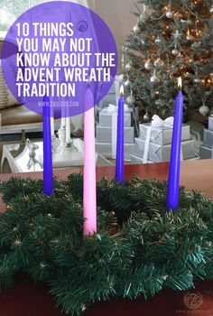 The time is nearly upon us when our stores will be decked out in Advent wreaths. With wreaths bearing everything from elaborate manger scenes to simpl. Advent Wreath Prayers, Advent Wreath Candles, Christmas Advent Wreath, Advent Wreaths, Christmas Holidays, Christmas Crafts, Christmas Decorations, Catholic Advent Wreath, Advent Candles Meaning