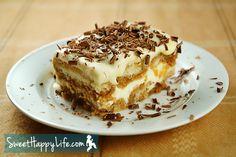 [donotprint]Tiramisu is an elegant dessert that's ridiculously easy to make - especially if you use pre-made savoiardi (also called ladyfi