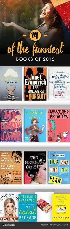 14 New Books That Will Make You Laugh Out Loud in 2016 Veronica Campbell - freetime. I Love Books, New Books, Good Books, Books To Read, Book Suggestions, Book Recommendations, Reading Lists, Book Lists, Books 2016