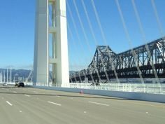 In with the new, out with the old. The new Eastern Span of the Bay Bridge will open in 3.5 days!