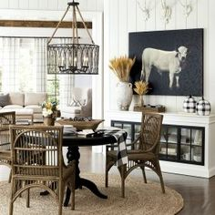 Read More Top Design List Image Storage With Decorative Baskets Hgtv Creative Perfect Design Fixer Upper Living Room, Home Living Room, Joanna Gaines Living Room, Luxury Dining Room, Dining Room Furniture, Cottage Furniture, Great Rooms, Paint Colors, Home And Family