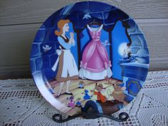 A Dress for Cinderelly Collector's Plate by KsCollectibles on Etsy, $14.95