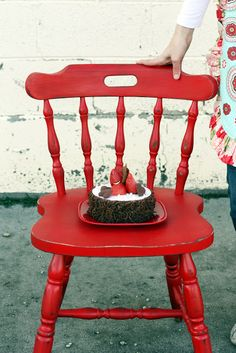 Chair Makeover: Before and After - Sew Much Ado