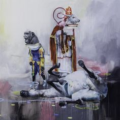 Death of Amerigo - Joram Roukes
