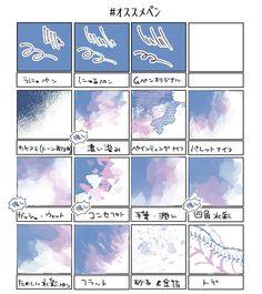 """ぞうきん(とんこつ味) on Twitter: """"ぞうきんの激推しペン・・・!! DL筆様々!!いつもありがとう!!大好き!! #オススメペン #CLIPSTUDIO… """" Digital Painting Tutorials, Digital Art Tutorial, Art Tutorials, Hand Drawing Reference, Drawing Tips, Art Reference, Coloring Tutorial, Anatomy Tutorial, Sky Art"""
