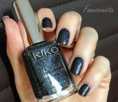 Fanessinista: (Lacke in Farbe... und bunt!) Kiko - Techno Black #442