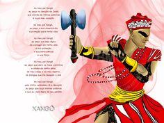 Oração de Xangô 1024x768 Papel de Parede Wallpaper
