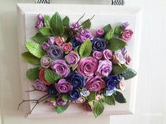 My polymar clay roses-SÜMBÜL ELDEK