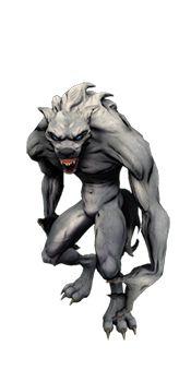Werewolf Beast (Mesh)