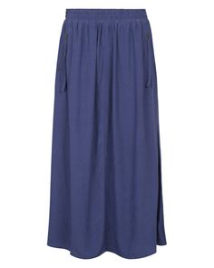 Zip Pocket Maxi Skirt