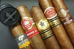 Itching to try something new? We've stocked 5 new Cuban Cigars from #Habanos S.A. waiting to be smoked.   Romeo y Julieta Capuletos Edicion Limitada 2016 Cohiba Medio Siglo Trinidad Topes H. Upmann Magnum 54 Montecristo Special 80 Aniversario  #cubancigars  #yeg #cohiba #montecristo #hupmann #trinidad #romeoyjulieta