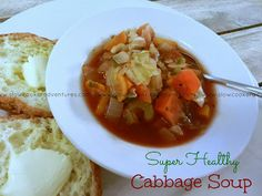 A Busy Mom's Slow Cooker Adventures: Super Healthy Cabbage Soup - Gluten-Free