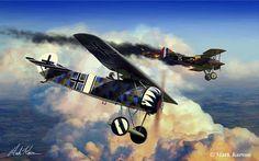 Fokker EV of Jasts 6 (pilot Richard Wenzl)