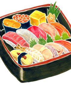 Sushi monarch who I polite friends.