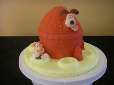 Wallace and Gromit - inspired by Debbie Brown